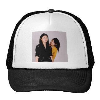 Asian Girl Movie Style Trucker Hat