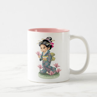 Asian Girl Mug Mug