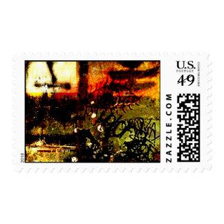Asian Graffiti mix up Stamps