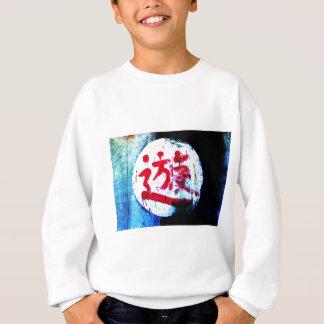 Asian graffiti sweatshirt