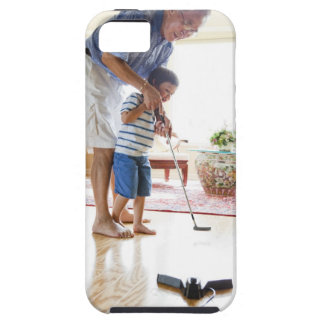 Asian Grandfather teaching his Half-Asian iPhone SE/5/5s Case