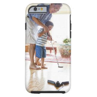 Asian Grandfather teaching his Half-Asian Tough iPhone 6 Case