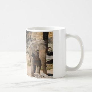 Asian Gray Elephant Coffee Mug