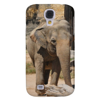 Asian Gray Elephant Samsung Galaxy S4 Cases