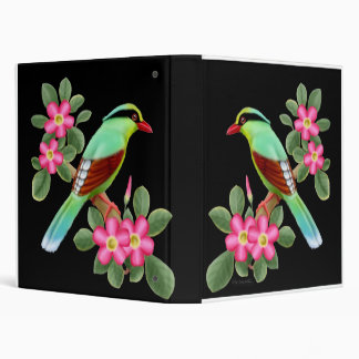 Asian Green Magpie Avery Binder