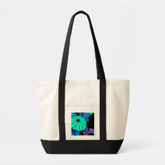 Asian-Inspired Floral Tote