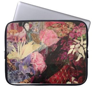 Asian inspired laptop sleeve