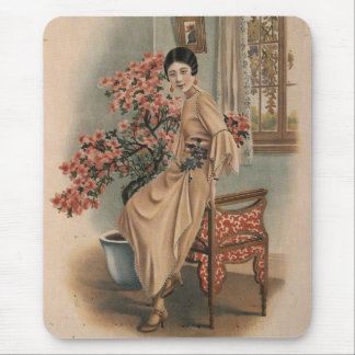 Asian Jewelry Advertisement Mouse Pad