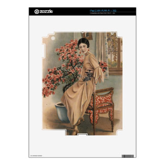 Asian Jewelry Advertisement Decal For iPad 2