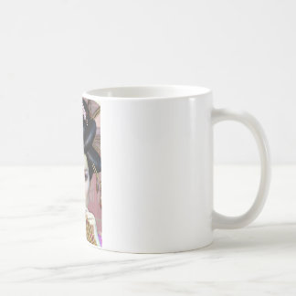 Asian lady coffee mug