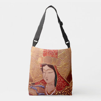 Asian Lady Crossbody Bag
