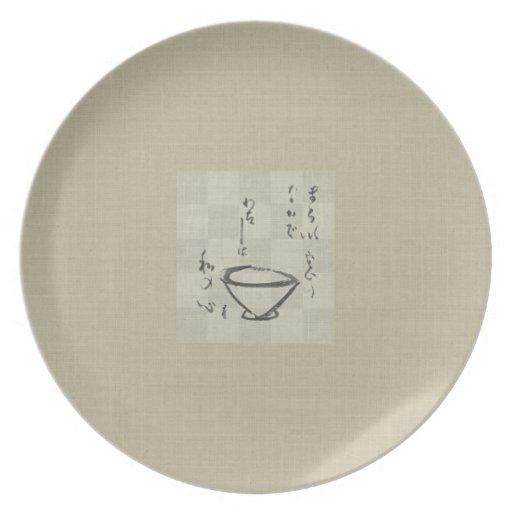 Asian Landscape Plate