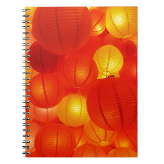 Asian Lanterns Note Book