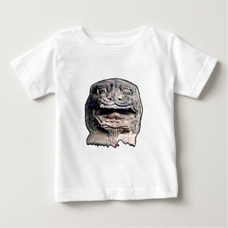Asian Lion Head transp o 2 The MUSEUM Zazzle Gifts Baby T-Shirt