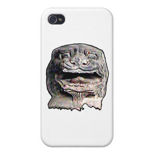 Asian Lion Head transp o 2 The MUSEUM Zazzle Gifts Covers For iPhone 4