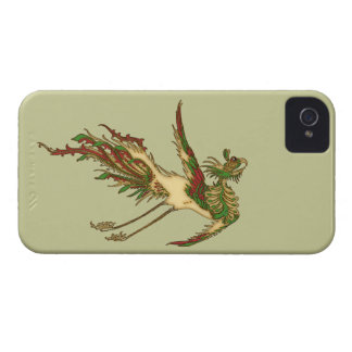 Asian Luck Dragon Ancient Art Design iPhone 4 Case