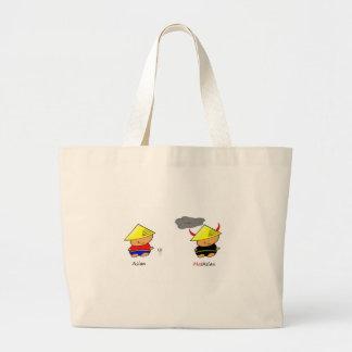 Asian/Malaysian Canvas Bags