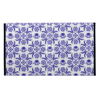Asian/Middle Eastern pattern (Blue) iPad Cases