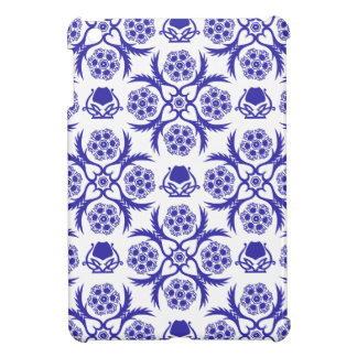 Asian/Middle Eastern pattern (Blue) iPad Mini Covers