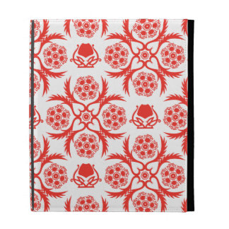 Asian/Middle Eastern pattern (Red) iPad Cases