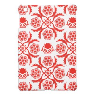 Asian/Middle Eastern pattern (Red) Cover For The iPad Mini