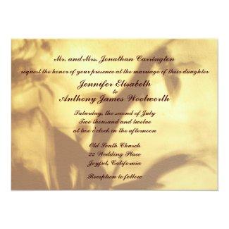 Asian Motif Wedding 5.5x7.5 Paper Invitation Card