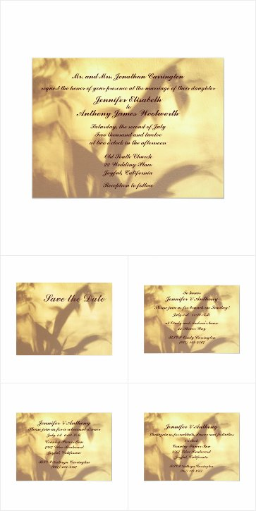 Asian Motif Wedding Invitations