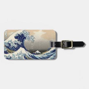 Asian Ocean Great Wave off Kanagawa Luggage Tag