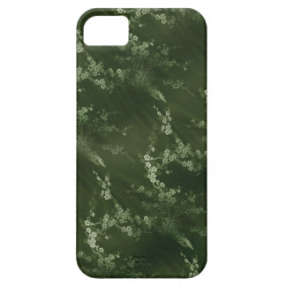 Asian Olive Green Silk iPhone 5 Case