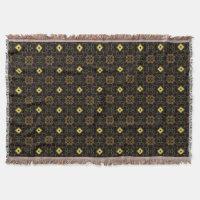 Asian Oriental Throw Blanket
