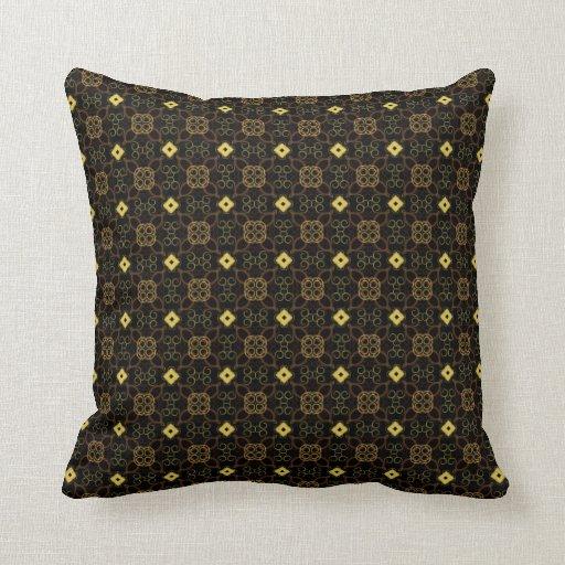 Oriental Design Throw Pillows : Asian Oriental Throw Pillow Zazzle