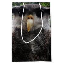 Asian owl medium gift bag