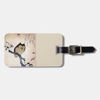 Asian Owl Tag For Luggage