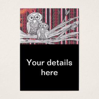 Asian Owls Business Cards