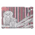 Asian Owls  iPad Mini Cases