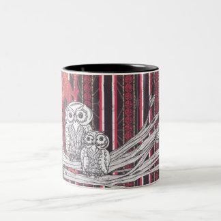 Asian Owls Mug