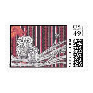 Asian Owls postage