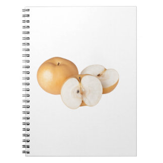 Asian pear notebook
