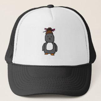 Asian Penguin Trucker Hat