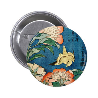 ASIAN PEONIES button