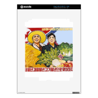 Asian poster skin for iPad 2