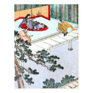 Asian Princess Postcard