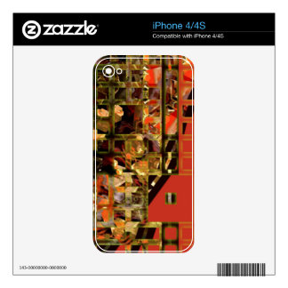 Asian Red Skins For iPhone 4