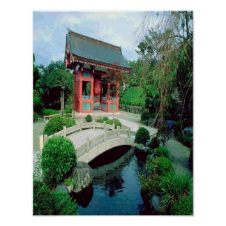 Asian-retreat canvas poster