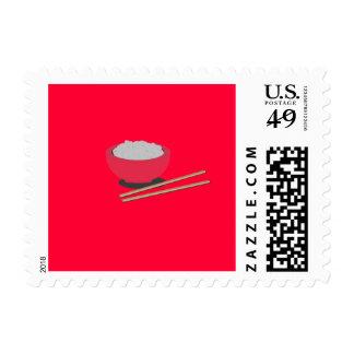 Asian rice postage