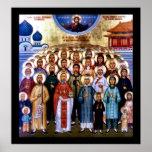 Asian Saints & Jesus Print