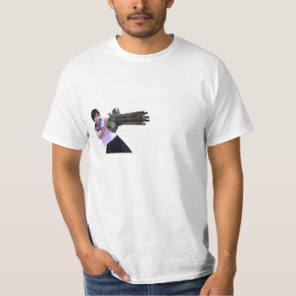 Asian School Girl with Weapon T-Shirt