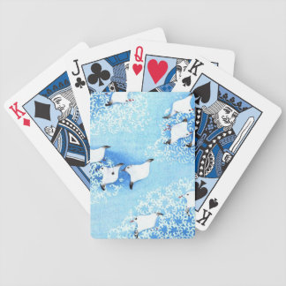 Asian Sea Birds Bicycle Playing Cards