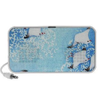 Asian Sea Birds iPod Speakers