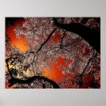 Asian skies print
